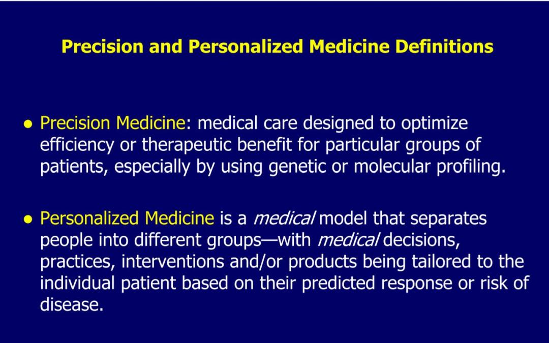 personalized medicine definition